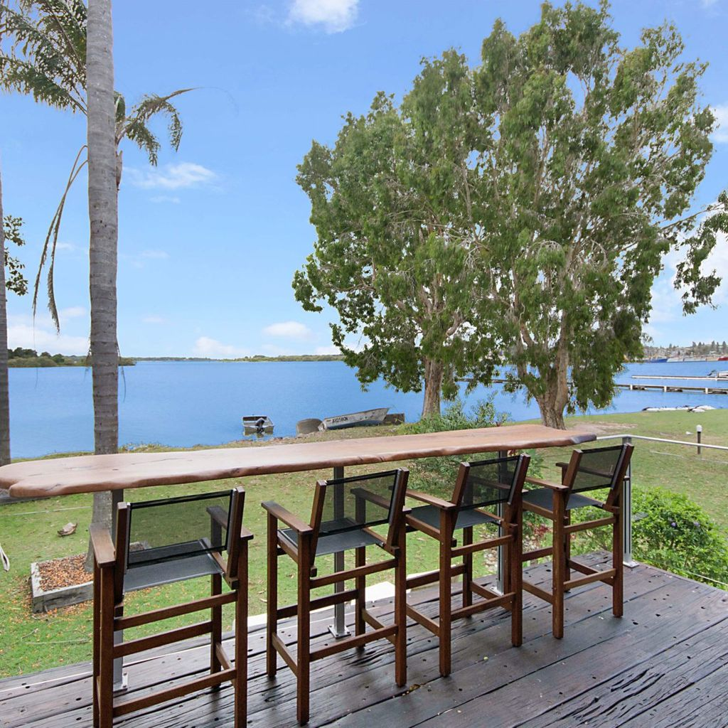 Moby Dick Waterfront Resort  - River Views From The Balcony