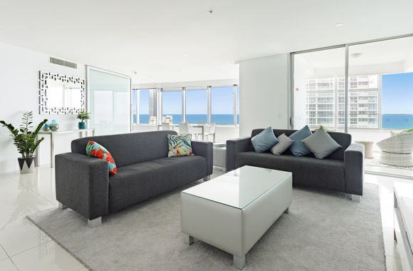 Luxury Private 3 Bedroom at the Q Surfers Paradise