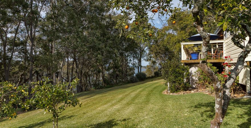 Aleda House on the Myall Lakes