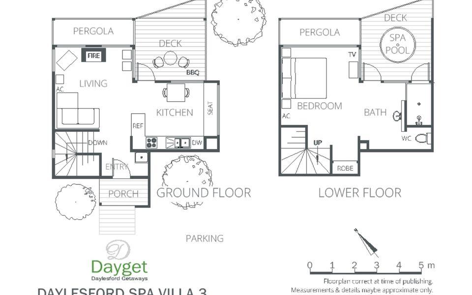 Daylesford Spa Villa 3