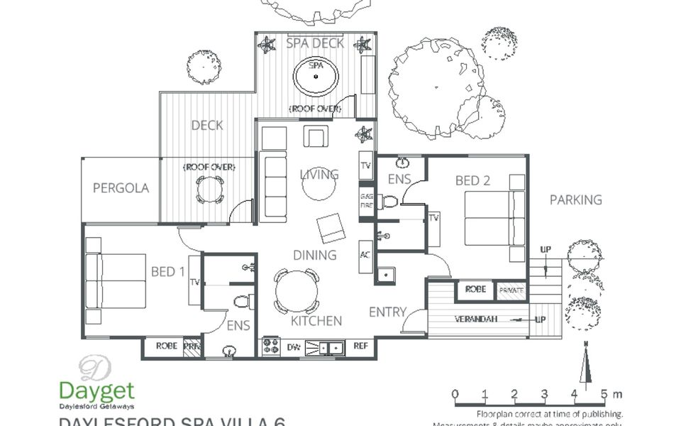 Daylesford Spa Villa 6